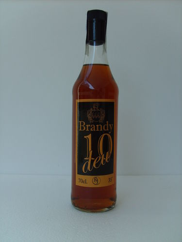 BRANDY 10 DEU 700ml 35º