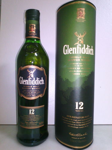 WHISKY GLENFFIDICH 700 ml 40º