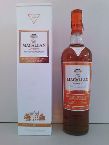 WHISKY MACALLAN AMBER 700ml 40º