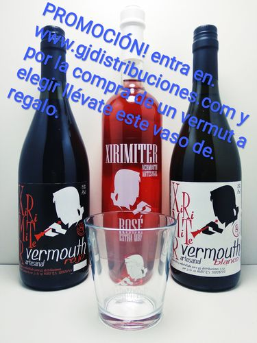 PROM. VERMOUTH 750ml + VASO