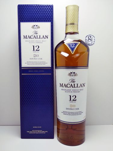 WHISKY THE MACALLAN 12 YEARS DOUBLE CASK 40º